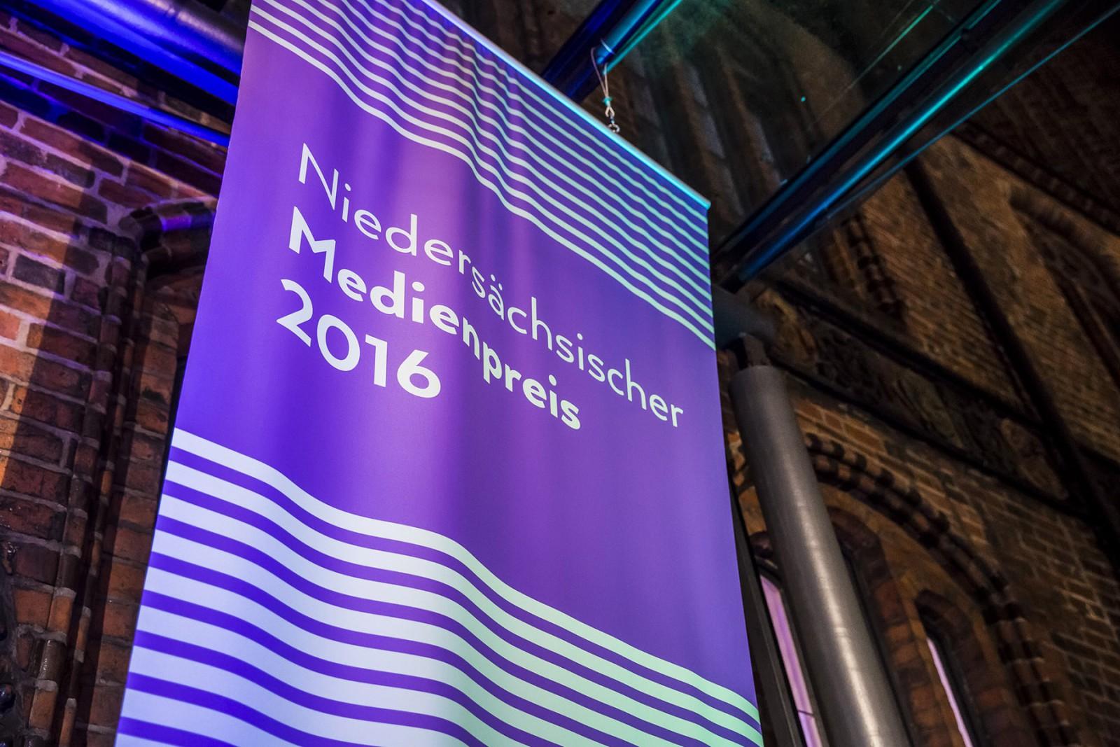 Niedersächsischer Medienpreis 2016 (Media Award of the State Media Authority of Lower Saxony)